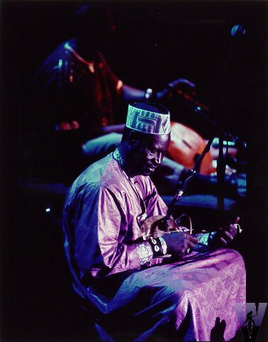 Ali Farka Toure Vintage Print from Fillmore Auditorium on 13 May 94: 11x14 Cibachrome