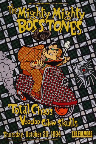 "The Mighty Mighty Bosstones Poster from Fillmore Auditorium on 20 Oct 94: 13"" x 19"""