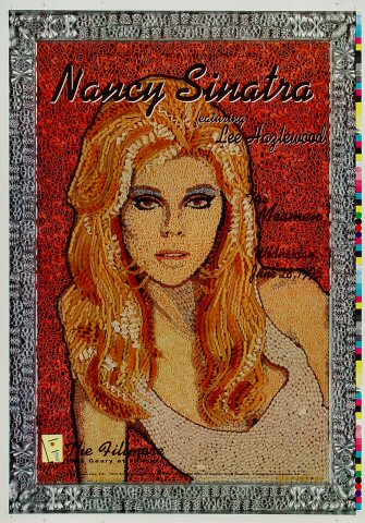 "Nancy Sinatra Proof from Fillmore Auditorium on 28 Jun 95: 14"" x 20"""