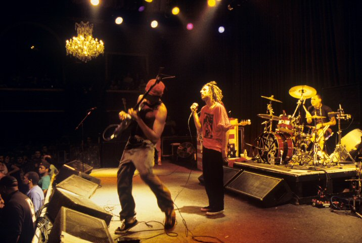 Rage Against the Machine BG Archives Print from Fillmore Auditorium on 05 Sep 96: 16x20 C-Print