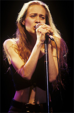 Fiona Apple BG Archives Print from Fillmore Auditorium on 17 Mar 97: 11x14 C-Print