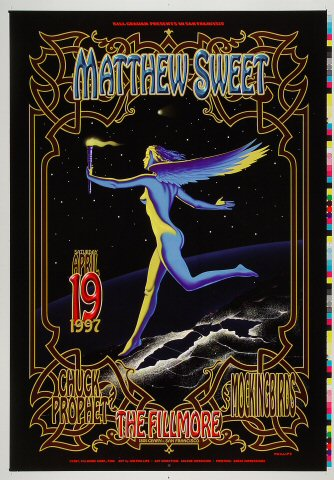 "Matthew Sweet Proof from Fillmore Auditorium on 19 Apr 97: 14"" x 20"""