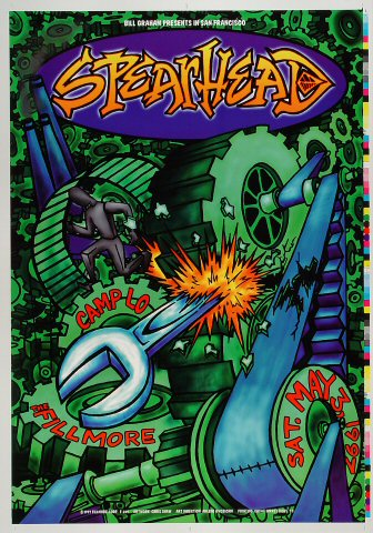 "Spearhead Proof from Fillmore Auditorium on 03 May 97: 14"" x 20"""