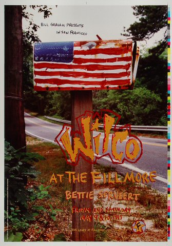 "Wilco Proof from Fillmore Auditorium on 09 May 97: 14"" x 20"""