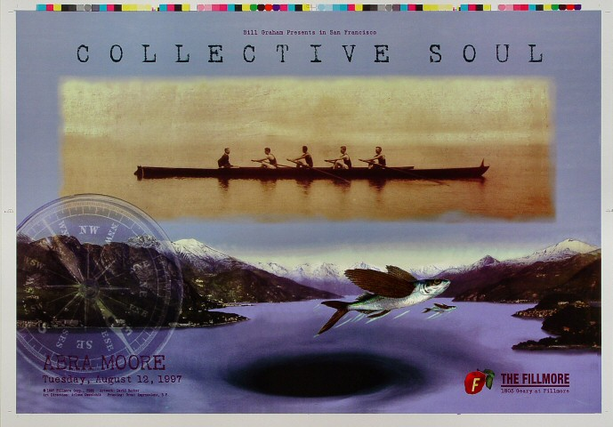 "Collective Soul Proof from Fillmore Auditorium on 12 Aug 97: 14"" x 20"""