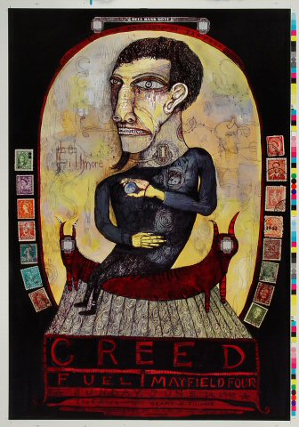 "Creed Proof from Fillmore Auditorium on 14 Jun 98: 14"" x 20"""