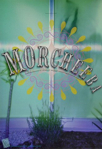 "Morcheeba Poster from Fillmore Auditorium on 28 Aug 98: 13"" x 19"""