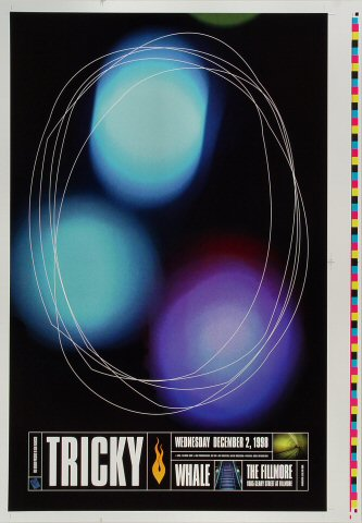 """Tricky Proof from Fillmore Auditorium on 02 Dec 98: 14"""" x 20"""""""