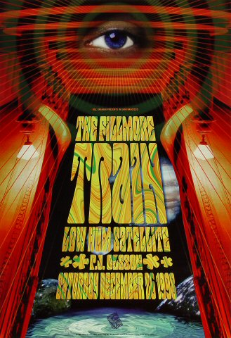 "Train Poster from Fillmore Auditorium on 26 Dec 98: 13"" x 19"""