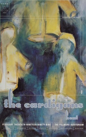 "The Cardigans Poster from Fillmore Auditorium on 20 Feb 99: 13"" x 19"""