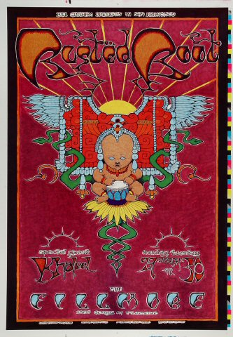 "Rusted Root Proof from Fillmore Auditorium on 29 Mar 99: 14"" x 20"""