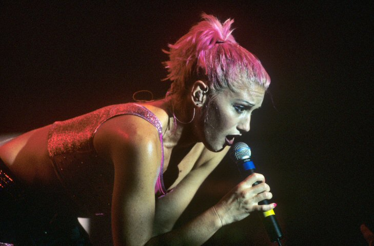 Gwen Stefani BG Archives Print from Fillmore Auditorium on 09 Oct 99: 16x20 C-Print