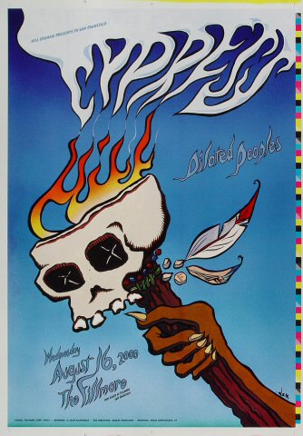 "Cypress Hill Proof from Fillmore Auditorium on 16 Aug 00: 14"" x 20"""