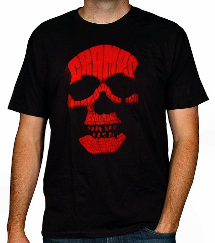 The Cramps Men's Retro T-Shirt from Fillmore Auditorium on 31 Oct 00: Large