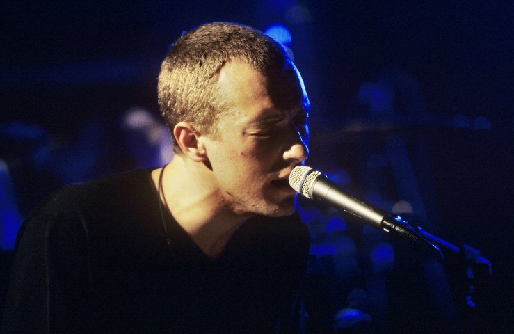 Chris Martin BG Archives Print from Fillmore Auditorium on 12 Feb 01: 11x14 C-Print