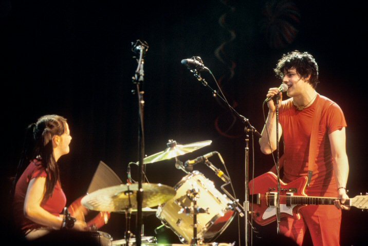 The White Stripes BG Archives Print from Fillmore Auditorium on 12 May 01: 16x20 C-Print