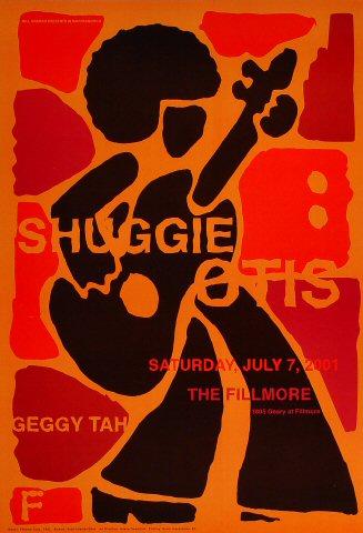 """Shuggie Otis Poster from Fillmore Auditorium on 07 Jul 01: 13"""" x 19"""""""