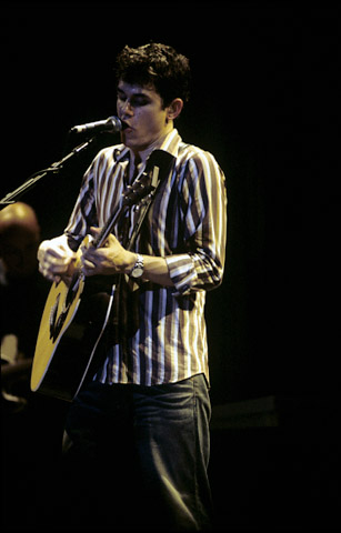 John Mayer BG Archives Print from Fillmore Auditorium on 05 Apr 02: 16x20 C-Print