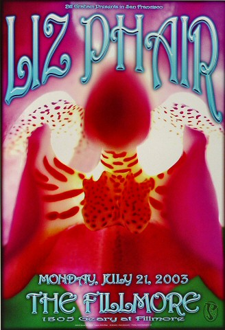 "Liz Phair Poster from Fillmore Auditorium on 21 Jul 03: 13"" x 19"""