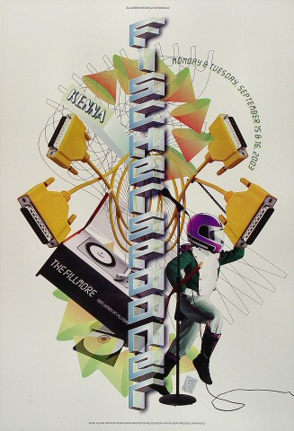 "Fischerspooner Poster from Fillmore Auditorium on 15 Sep 03: 13"" x 19"""