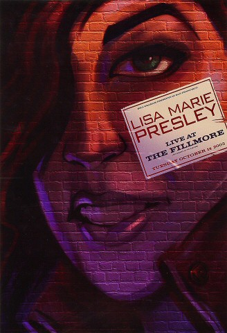 "Lisa Marie Presley Poster from Fillmore Auditorium on 14 Oct 03: 13"" x 19"""