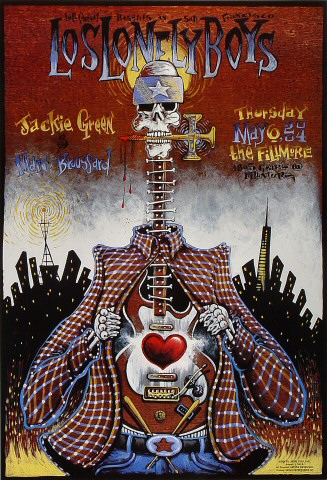 "Los Lonely Boys Poster from Fillmore Auditorium on 06 May 04: 13"" x 19"""