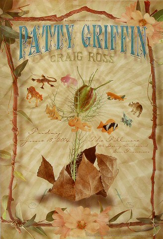 "Patty Griffin Poster from Fillmore Auditorium on 18 Jun 04: 13"" x 19"""
