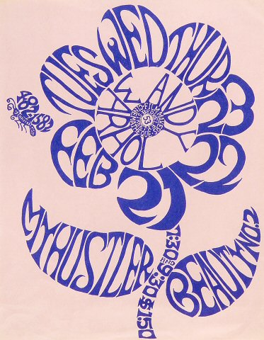 """Andy Warhol Handbill from Filmmakers Cinematheque on 21 Feb 67: 8 1/2"""" x 11"""""""
