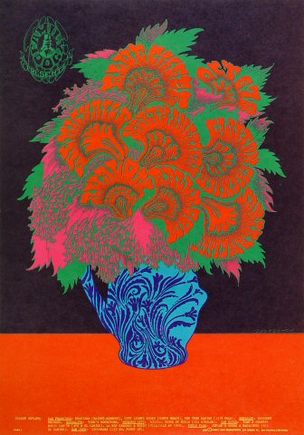 "Blue Cheer Poster from Avalon Ballroom on 06 Oct 67: 14"" x 20"""