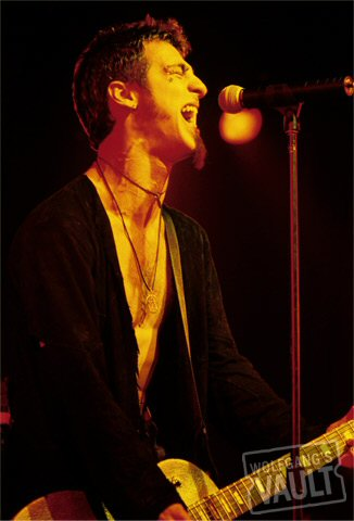 Sully Erna BG Archives Print from Fillmore Denver on 05 Nov 99: 16x20 C-Print