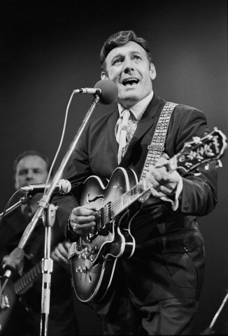 Carl Perkins Fine Art Print from Festival Field on 20 Jul 69: 11x14 Silver Gelatin