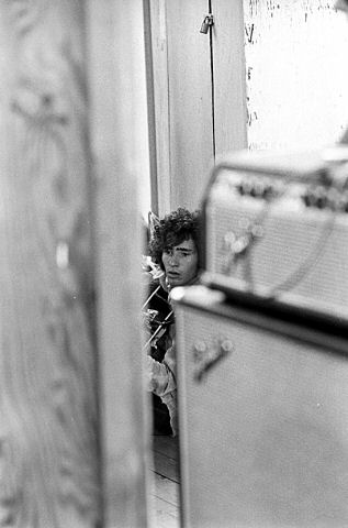 Tim Buckley Fine Art Print from Festival Field on 20 Jul 69: 16x20 Silver Gelatin