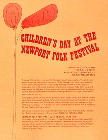 """Carl Perkins Handbill from Festival Field on 20 Jul 69: 8 1/2"""" x 11"""""""