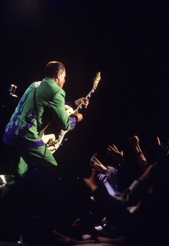 Reverend Horton Heat BG Archives Print from Fillmore Auditorium on 01 Sep 01: 11x14 C-Print