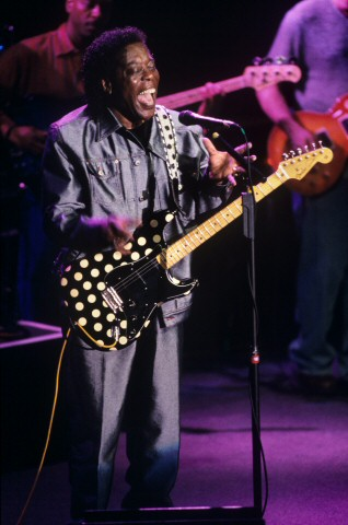Buddy Guy BG Archives Print from Fillmore Auditorium on 06 Feb 02: 11x14 C-Print