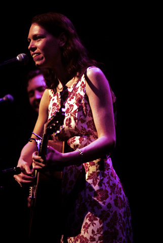 Gillian Welch BG Archives Print from Fillmore Auditorium on 28 Jun 02: 11x14 C-Print
