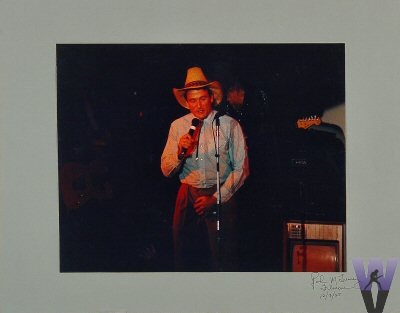 Robin Williams Vintage Print from Fillmore Auditorium on 07 Dec 85: 11x14 C-Print Mounted