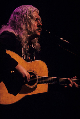 Arlo Guthrie BG Archives Print from Fillmore Auditorium on 09 Feb 97: 16x20 C-Print