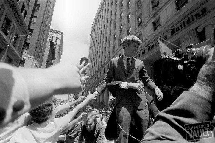 Robert F. Kennedy Fine Art Print from City of San Francisco : 16x20 Silver Gelatin Signed