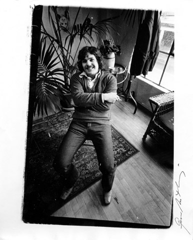 Jann Wenner Premium Vintage Print from Rolling Stone Office : 8x10 Silver Gelatin Signed