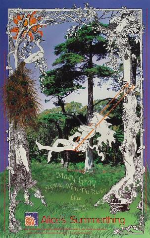 "Macy Gray Poster from Golden Gate Park on 15 Jun 03: 12"" x 19"""