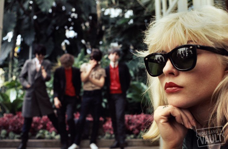 Blondie Fine Art Print from Golden Gate Park on 13 Apr 77: 11x14 C-Print Matted & Signed
