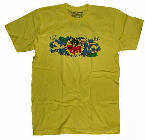Grateful Dead Men's Retro T-Shirt from Grand Prix Raceway on 28 Jul 73: Large