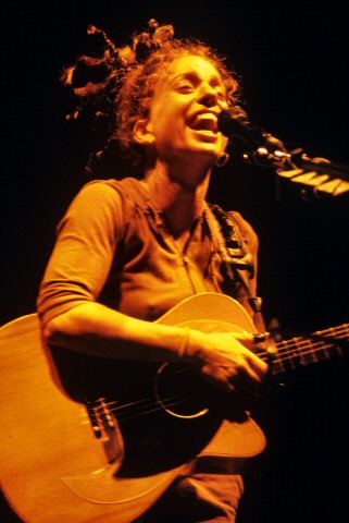 Ani DiFranco BG Archives Print from Greek Theatre on 06 Jul 01: 11x14 C-Print