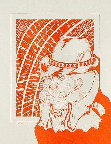 """Jagged Edge Handbill from Grande Ballroom on 16 Jun 67: 8 1/2"""" x 11"""""""