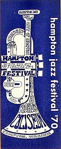 "Roberta Flack Program from Hampton Coliseum on 03 Jul 70: 3 1/2"" x 8 1/2"""