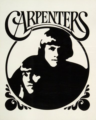 "Carpenters Handbill from Honolulu International Center on 04 May 72: 8"" x 10"""