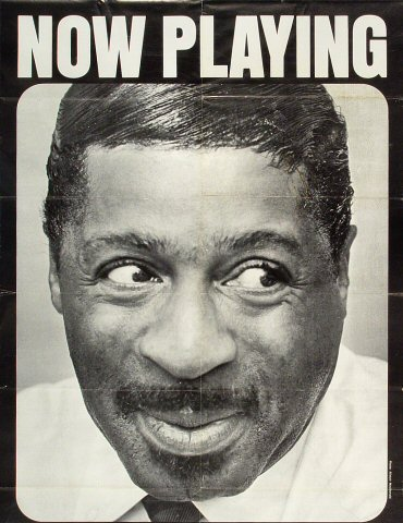 "Erroll Garner Poster from Honolulu International Center on 16 Jun 72: 15 1/8"" x 19 5/8"""