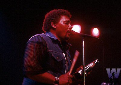 Aaron Neville BG Archives Print from Henry J. Kaiser Auditorium on 27 Dec 86: 16x20 C-Print