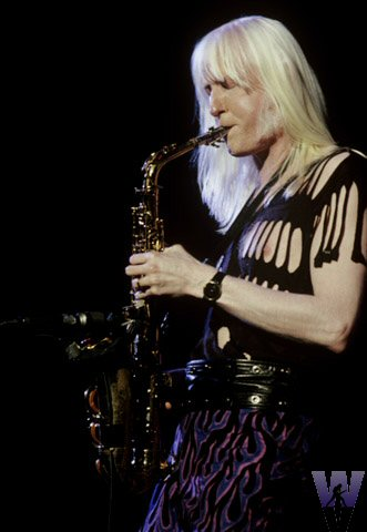 Edgar Winter BG Archives Print from Henry J. Kaiser Auditorium on 31 Oct 88: 16x20 C-Print